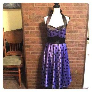 Women's Vintage like Halter Dress